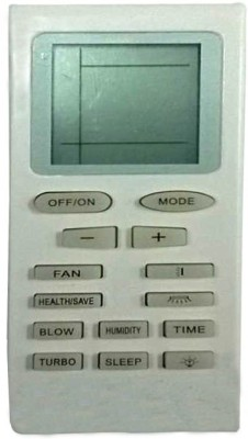 KoldFire Mepl Voltas Green AC 08 Compatible Remote Controller(White)