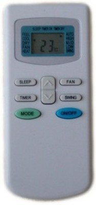 KoldFire TCL AC 33 Compatible Remote Controller + AA/AAA Battery Remote Controller