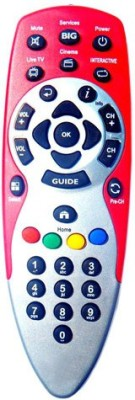 S Case Big TV-712 Remote Controller(Red)