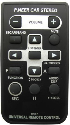 FOX MICRO CAR DVD REMOTE Remote Controller
