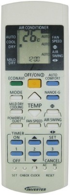 INDIA MARCHE Panasonic AC115 Remote Controller(WHITE)
