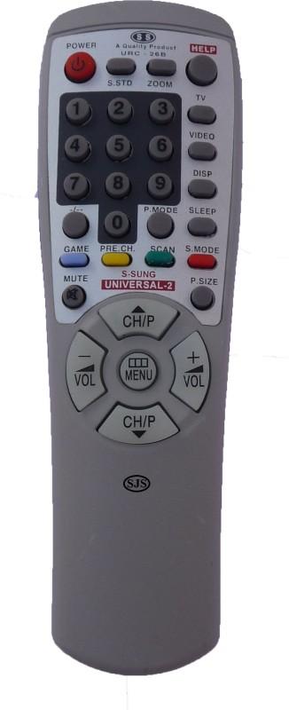 SJS T.V-Lcd-Led URC-26B Remote Controller(Grey)