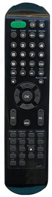 MEPL Compatible Videocon Lcd Tv Model No V-Lp Remote Controller(Black)