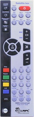 LRIPL videocon 3 IN ONE DTH,LCD,DVD Remote Controller