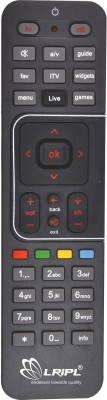 LRIPL DTH REMOTE Compatible for AIRTEL DTH DIRECT Remote Controller