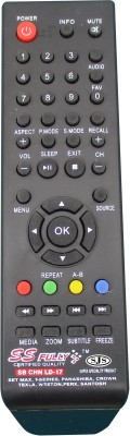 SJS China Lcd/Led Universal-17 Remote Controller