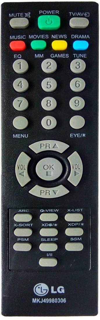 LG Remote Controller Radhikacomnet Original LG TV Remote (MKJ49980306) Remote Controller