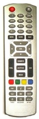 MEPL Compatible Dishtv Set Top Box Remote Controller(Grey)