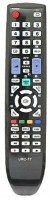 Bikers world Compatible For Samsung Led Lcd URC 77 Remote Controller Remote Controller(Black)