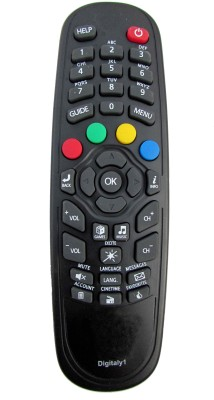 Onlinemart SET TOP BOX Compatible For Digitally 1 SET TOP BOX Remote Controller