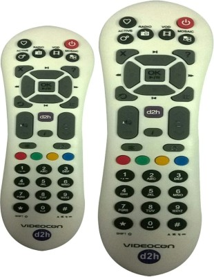 SKYKART Videocon Remote Controller White BUY ONE GET ONE FREE Remote Controller