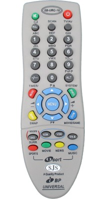 SJS Bpl Universal Urc-19 Remote Controller