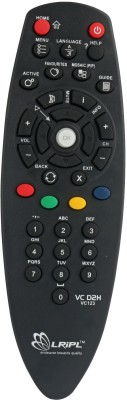 LRIPL DTH REMOTE Compatible for Videocon Remote Controller