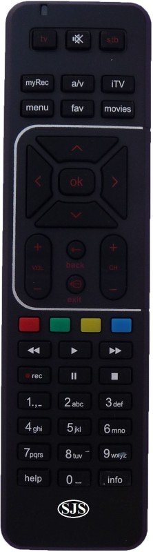 SJS T.V-Lcd-Led ART-HD-RC Remote Controller(Black)