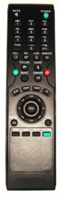 MEPL Compatible Videocon Color Tv No. Vtft Remote Controller(Black)
