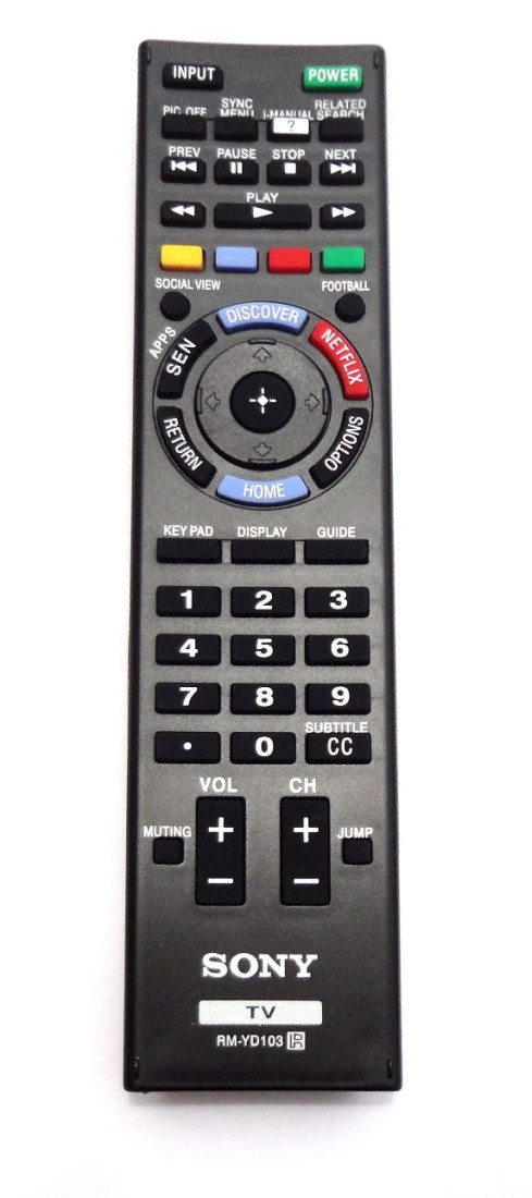 Sony BRAND LED/LCD TV ORIGINAL Remote Controller