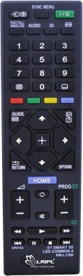 LRIPL SONY LED /LCD 3D UNIVERSAL TV Remote Controller