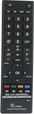 LRIPL Universal REMOTE Compatible for Toshiba LCD/LED Remote Controller