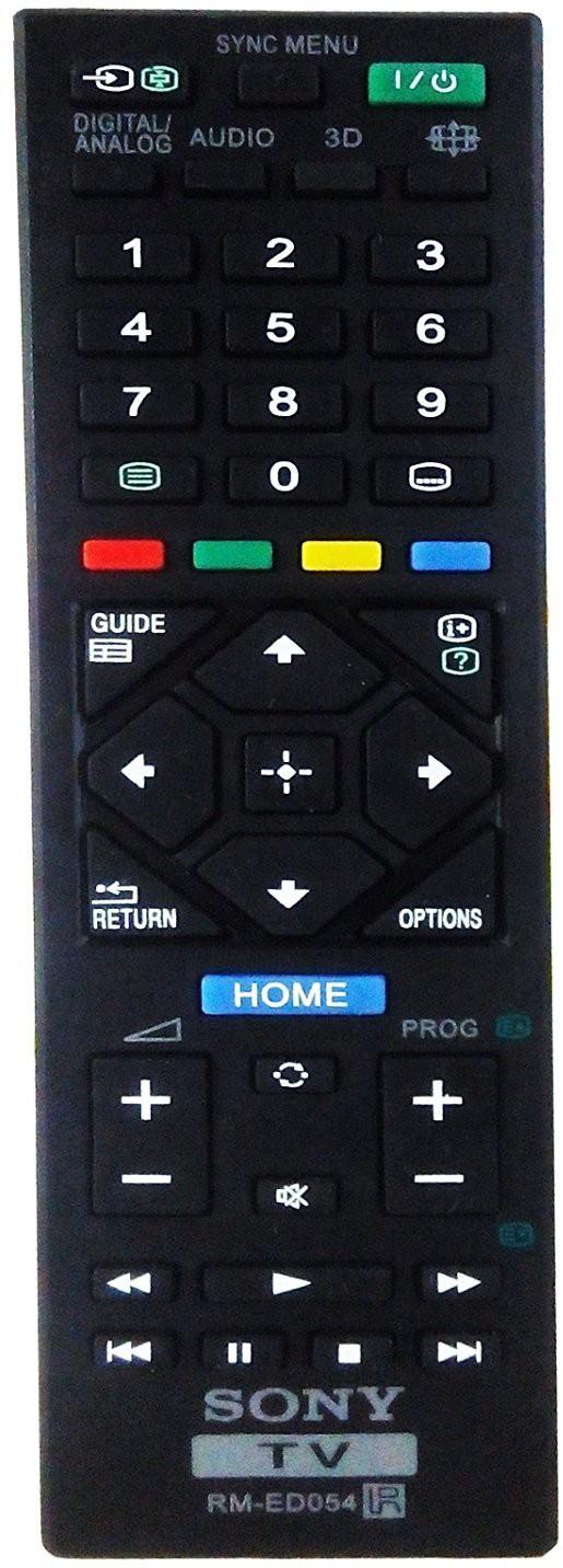 Sony Remote Controller Radhikacomnet Sony LcdLed 3d Remote (RM-ED054) Remote Controller Flipkart