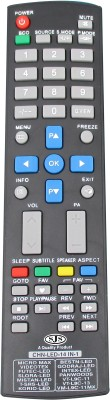 SJS China Lcd/Led Universal-09 Remote Controller(Black)