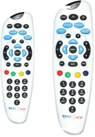 Skykart Tata sky Remote Controller Black White Grey BUY ONE GET ONE FREE Remote Controller