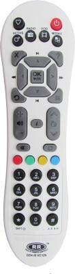 Indiashopers Indswht Compatible For Videocon Dth Set Top Box Remote Controller