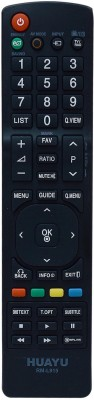 KoldFire MEPL LG LCD RM-1658 Compatible Remote Controller(Black)