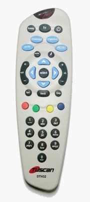 Tuscan Tata Sky DTH Set Top Box Remote Controller