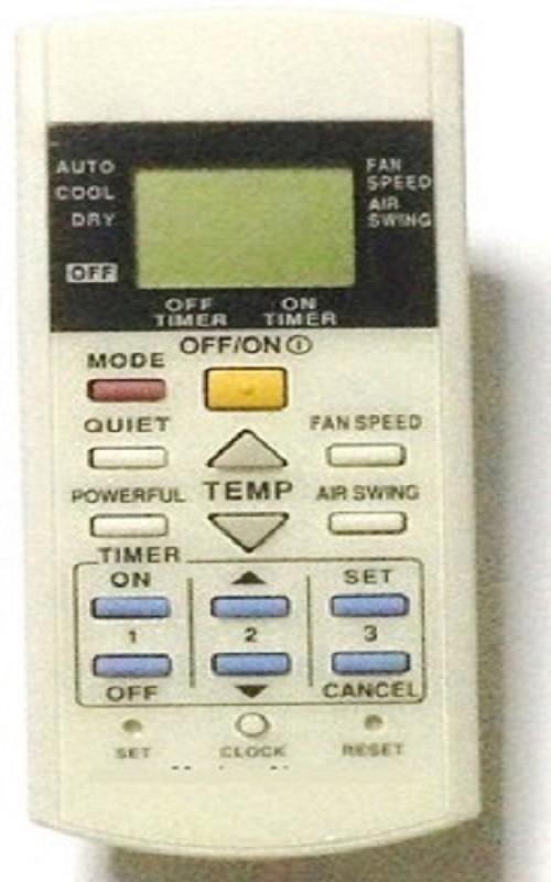 AElec. Compatible Panasonic AC Remote Controller(White)