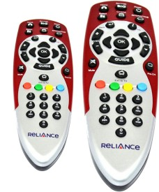 Skykart BigTV Relience Remote Controller Combo Of 2 Remote Controller