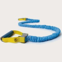 Reebok Power-Level 1 Resistance Tube(Yellow, Blue)