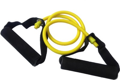 Sahni Sports Band Light Resistance Tube(Yellow, Black)