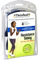 Thera-Band Professional with Soft Grip Handles Resistance Tube(Blue)