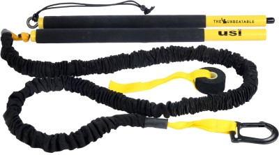 USI Bar Resistance Trainer Resistance Tube(Yellow, Black)