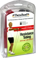Thera-Band Professional with Soft Grip Handles Resistance Tube(Red)