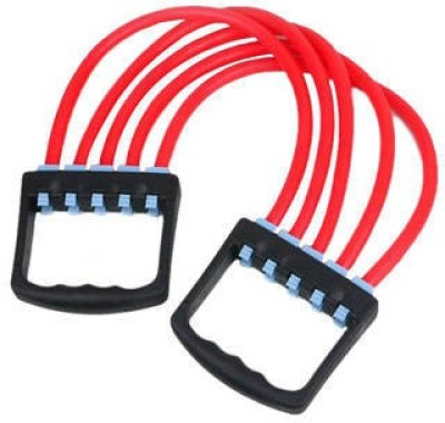 Mor Sporting Elasticity Chest Expander With Silicone Rubber Tube Resistance Tube