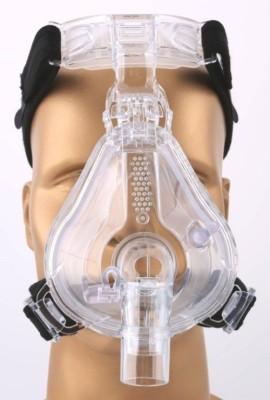 MAS MAS-FM 01 CPAP Full Face Mask Respiratory Exerciser