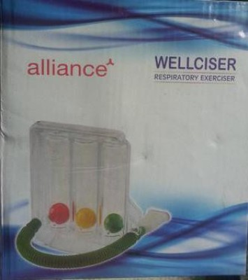 Alliance RE001 Tri Ball Respiratory Exerciser(Pack of 1)