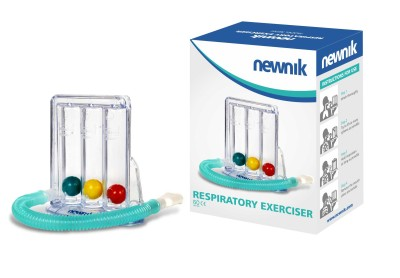Newnik RE201 Three Ball Respiratory Exerciser