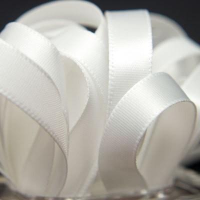 Garnet 6MRibbon White Satin Ribbon