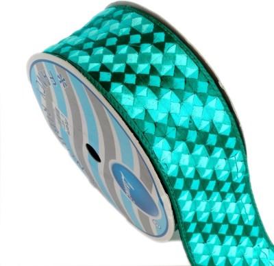 Lami TL4576-Shaded Embroidery Rama Green Rayon Ribbon