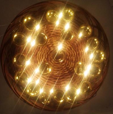 VRCT 109 inch Gold Rice Lights