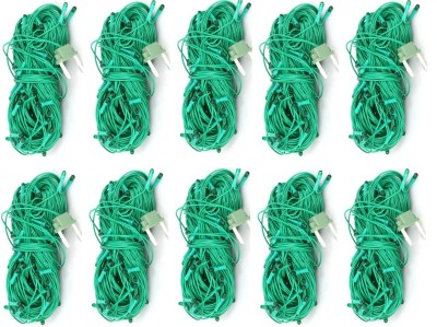 LES 312 inch Green Rice Lights(Pack of 10)