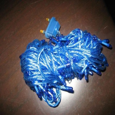 A to Z Traders 265 inch Blue Rice Lights