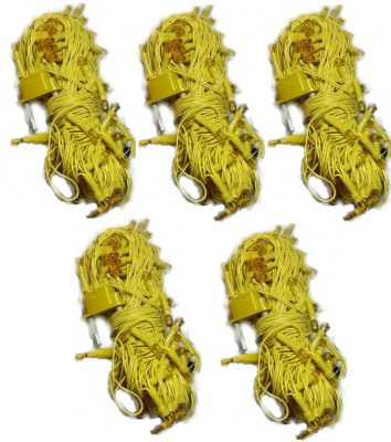 LES 312 inch Yellow Rice Lights(Pack of 5)