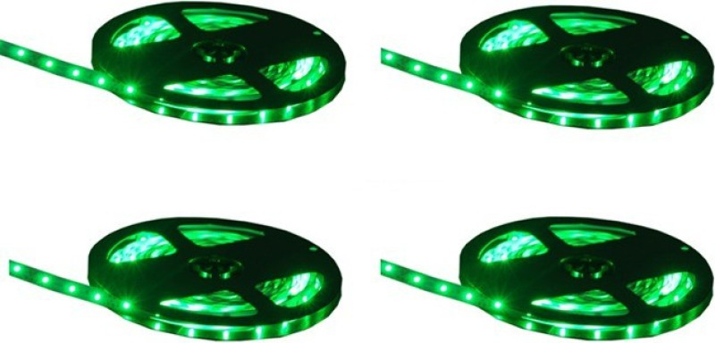 MDI 787 inch Green Rice Lights(Pack of 4)