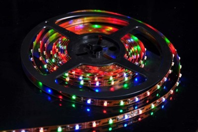 Lotus 196.85 inch Red, Blue, Green Rice Lights
