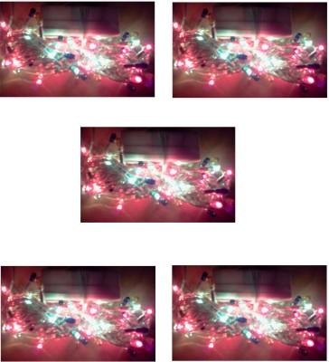 Tejenterprises 200 inch Red, Green, Blue Rice Lights