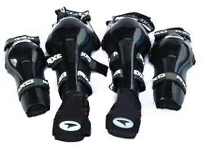 BIKEWAY Knee Guard, Elbow Guard XL Black