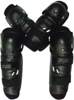 MR Trading Knee Guard Free Black(Pack of 4)